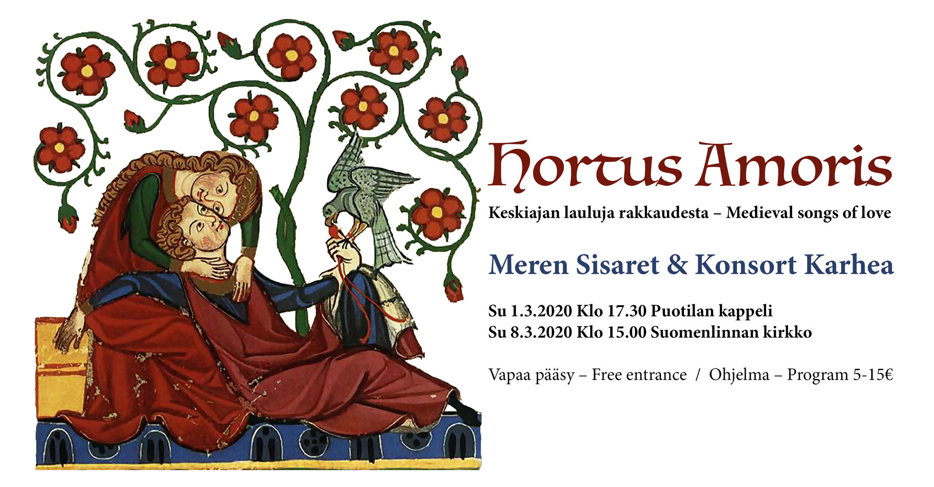 Link to event Hortus Amoris - Medieval Songs of Love