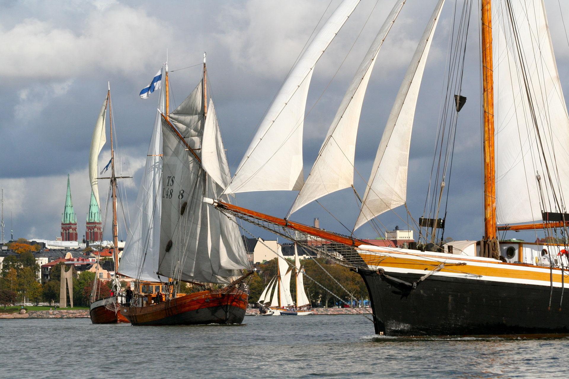 Linkki tapahtumaan Perinteinen purjelaivapäivä 2020
