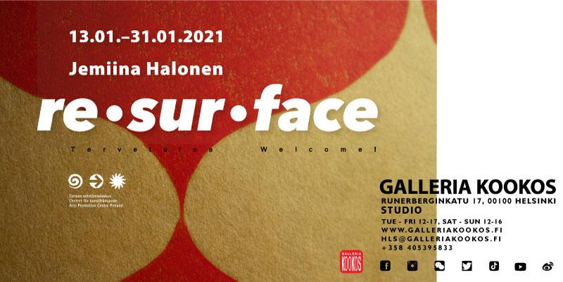Link to event Jemiina Halonen: Resurface