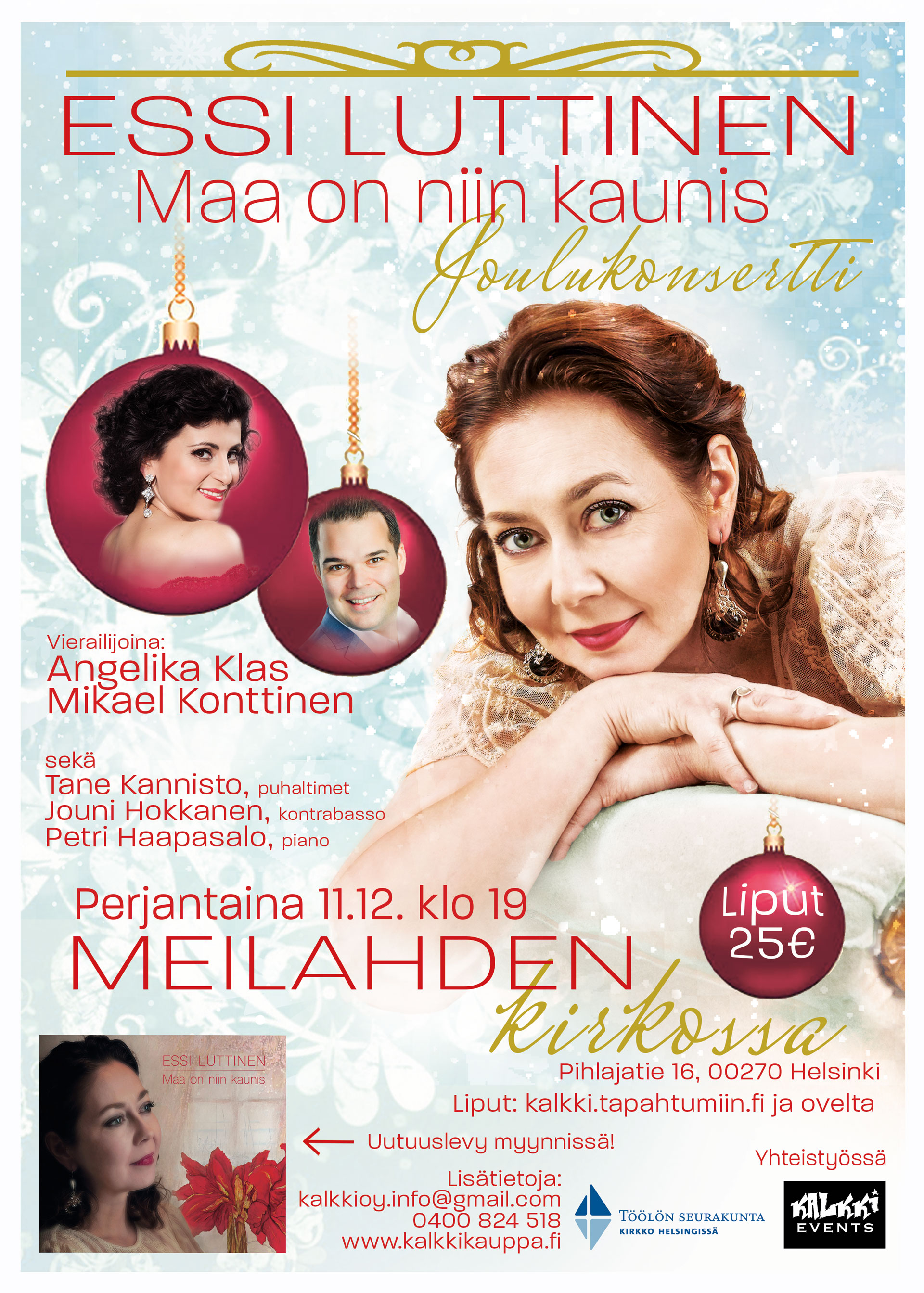 Link to event Essi Luttinen, Christmas Concert