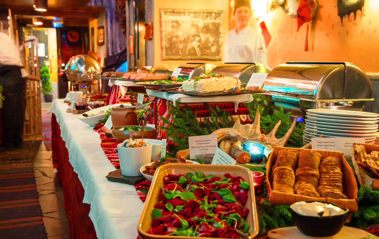 joulupöytä Ravintola Saagan lappilainen joulupöytä | My Helsinki joulupöytä