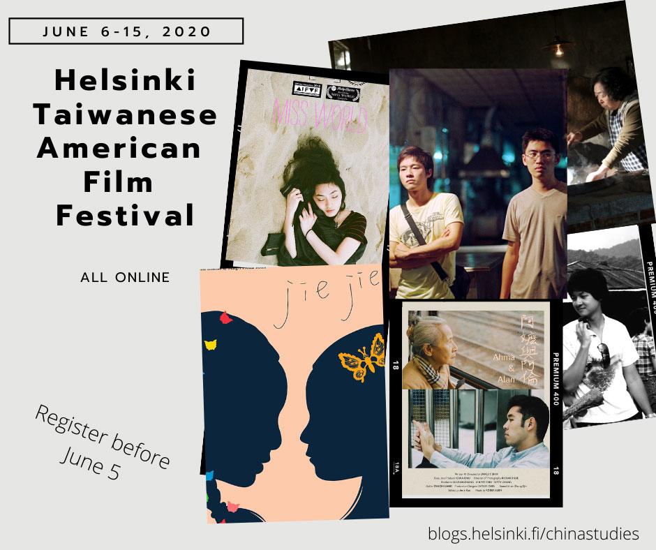 Linkki tapahtumaan Taiwanilais-amerikkalainen elokuvafestivaali 2020