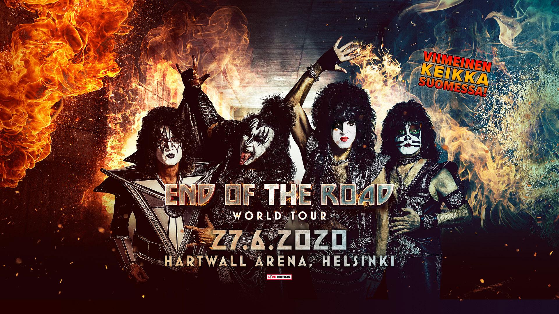 Länken till evenemang Kiss
