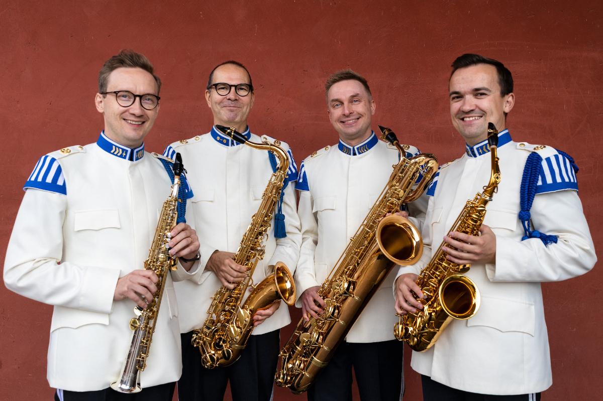 Linkki tapahtumaan Kaartin soittokunta: Saksofonimestarin syntymäpäiväkonsertti