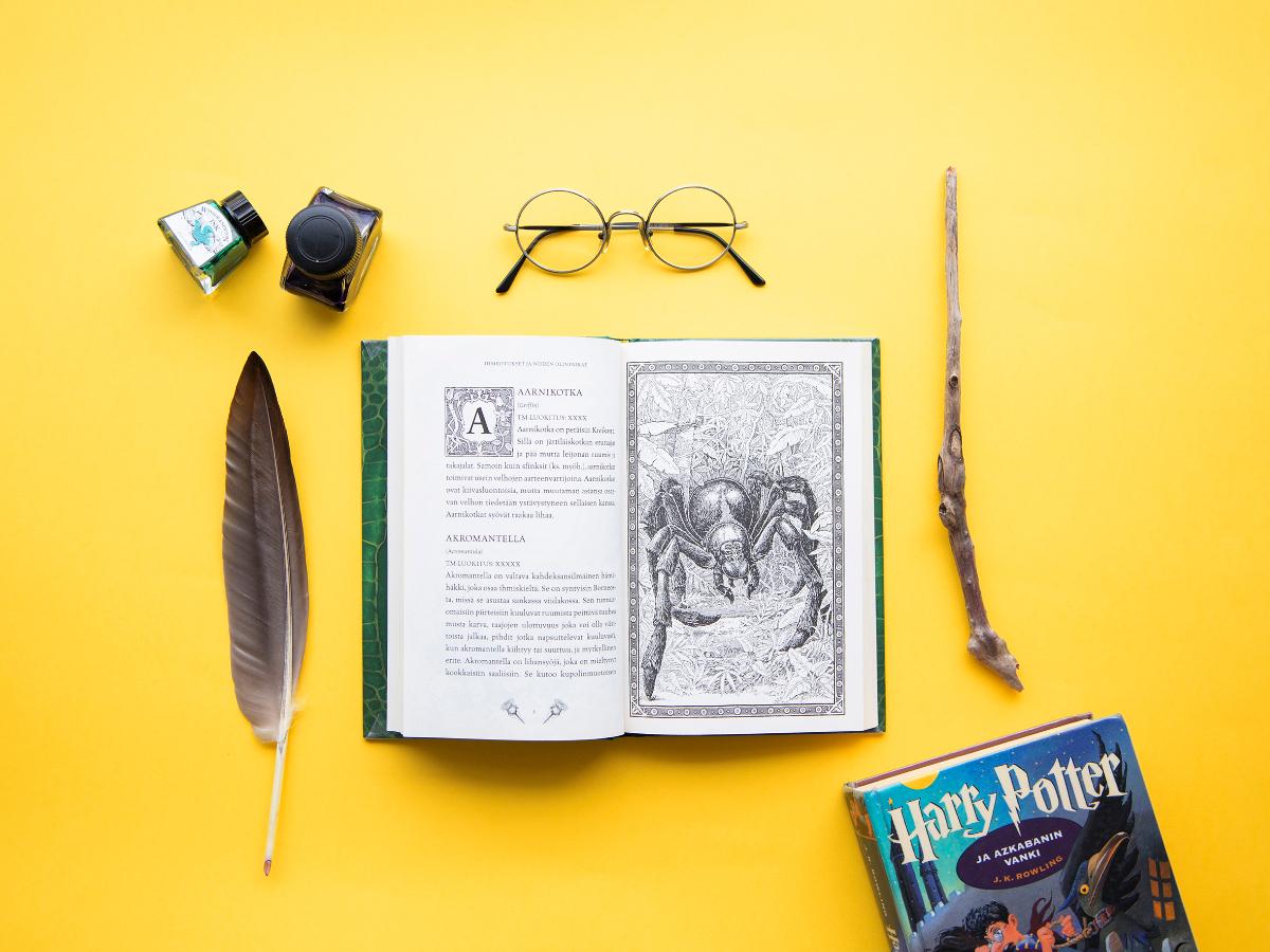 Linkki tapahtumaan Harry Potter Book Night -tapahtuman suunnitteluryhmä