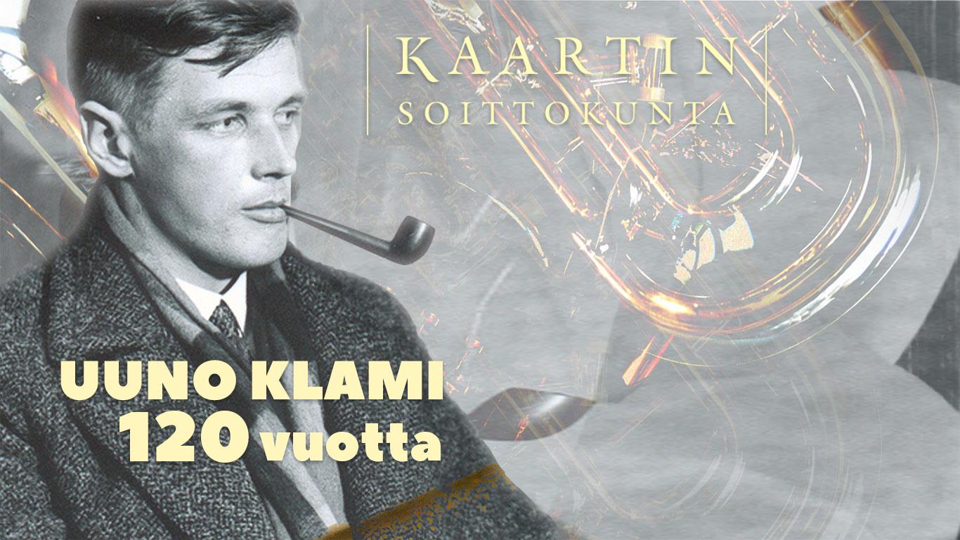 Linkki tapahtumaan Uuno Klamin 120-vuotisjuhlakonsertti