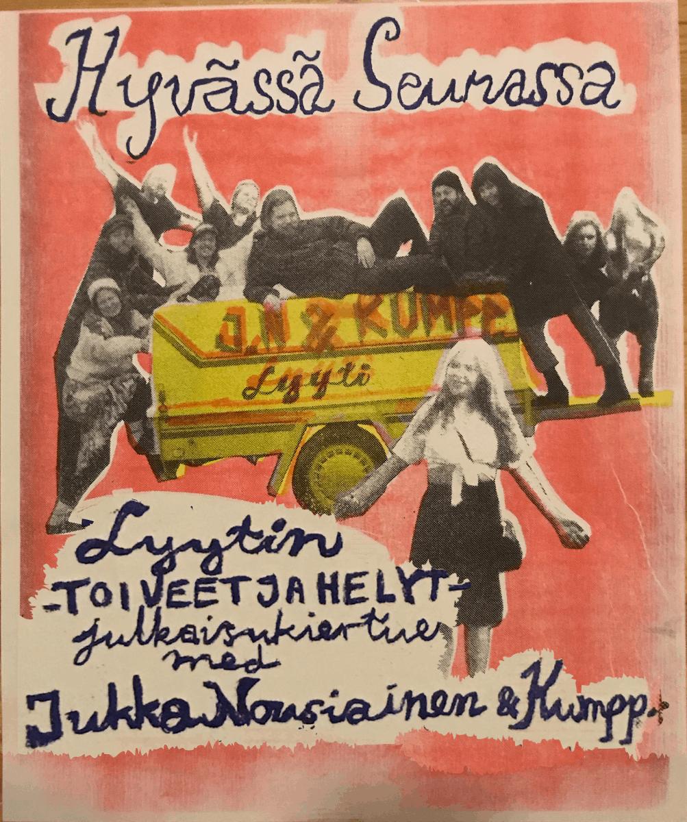 Linkki tapahtumaan Jukka Nousiainen & Kumppanit + Lyyti