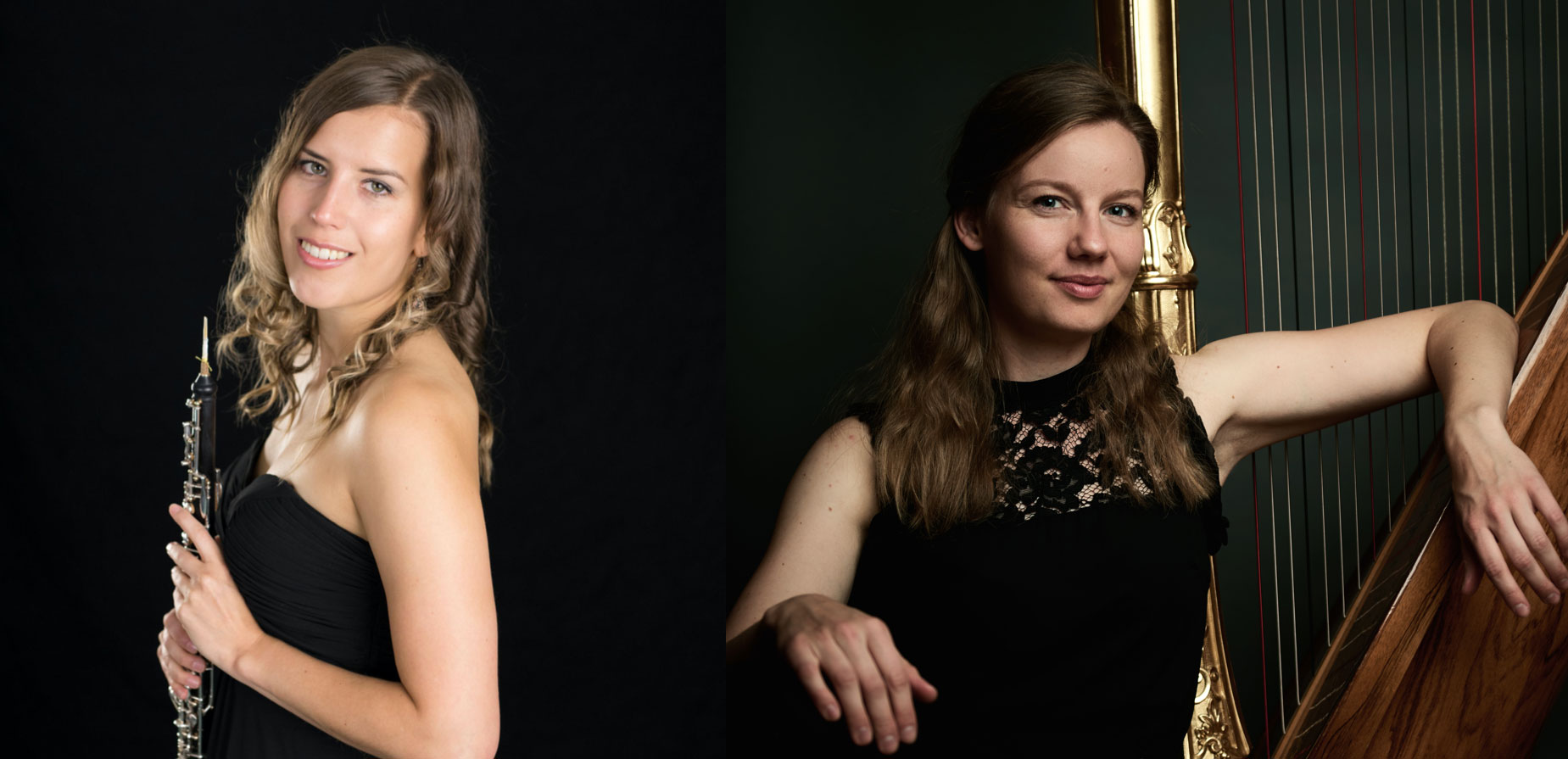 Länken till evenemang Konsert för oboe och harpa