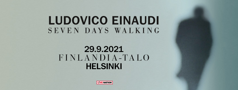 Linkki tapahtumaan Ludovico Einaudi: Seven Days Walking