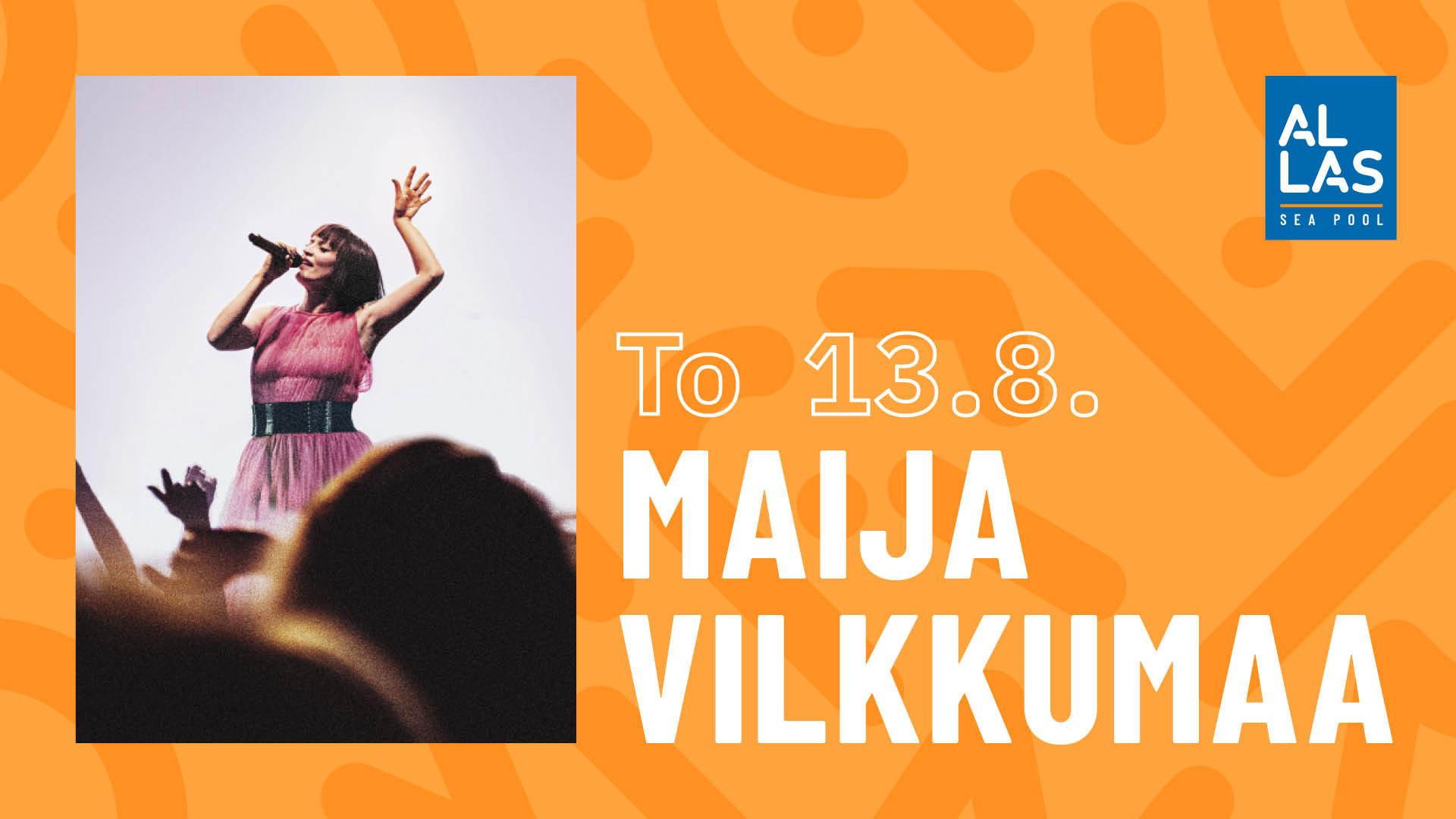 Linkki tapahtumaan Allas Live: Maija Vilkkumaa