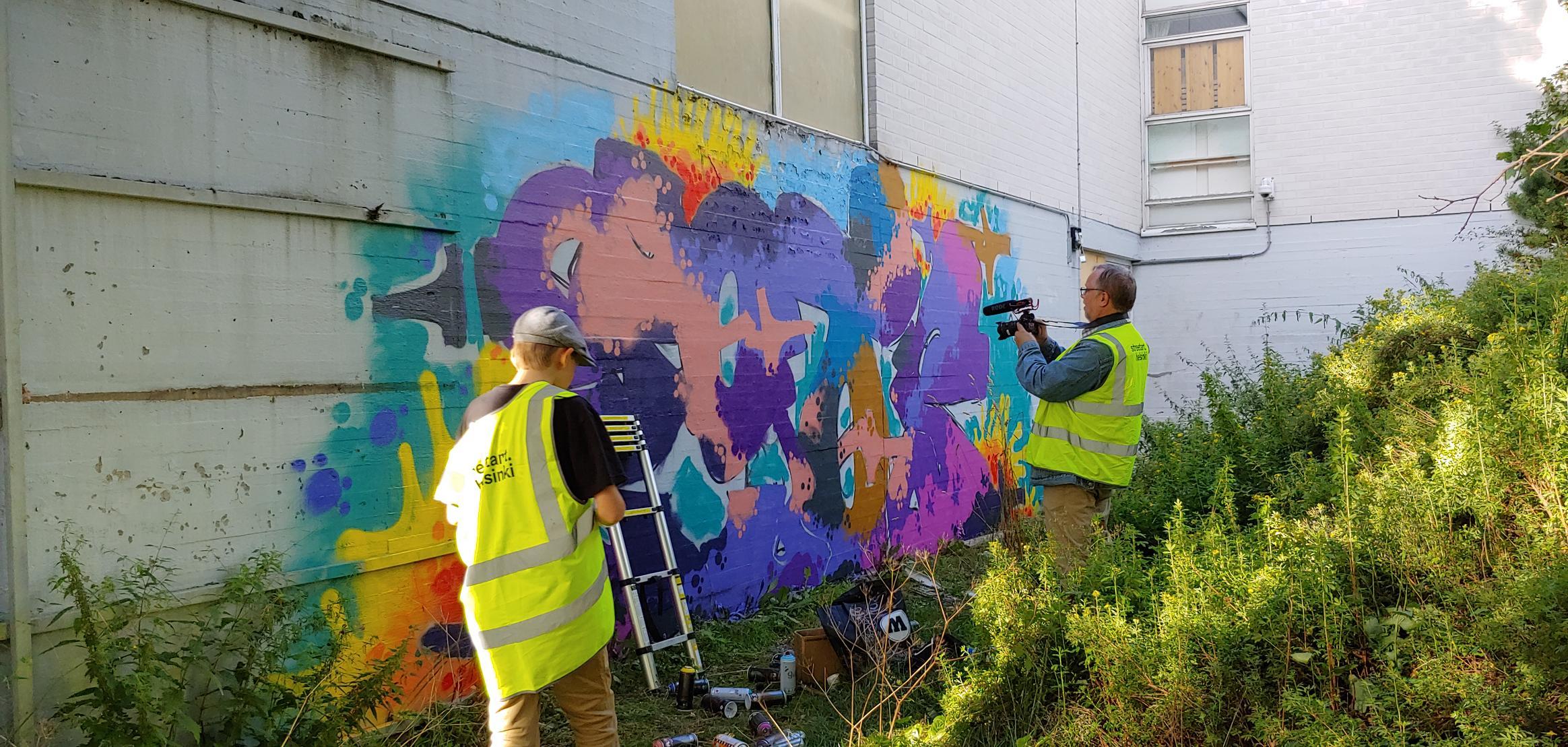 Linkki tapahtumaan Talviloma: Graffitin aika -dokumenttisarja