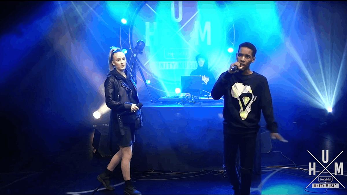 Linkki tapahtumaan Helsinki Unity Music Live & Open Mic