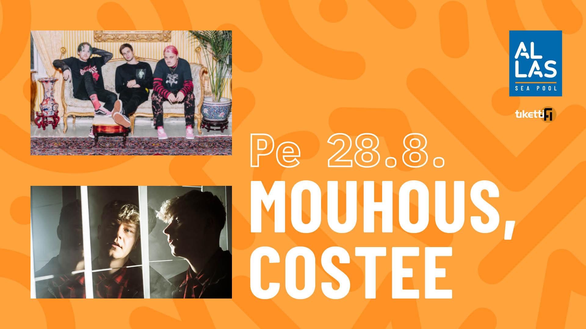 Linkki tapahtumaan Allas Live: Mouhous, Costee