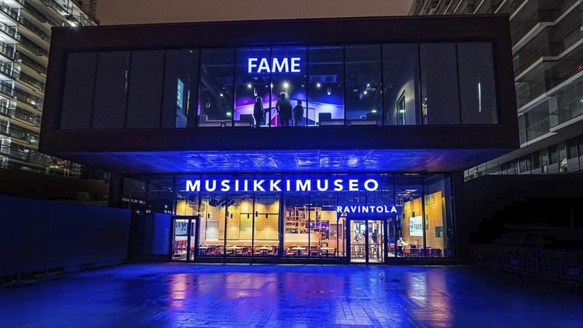 Link to event Fame - Genelec Live Internet Concert