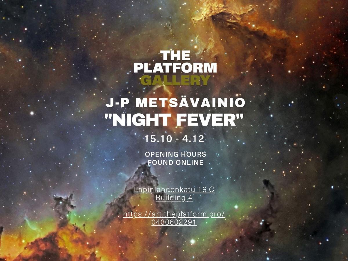 Linkki tapahtumaan J-P Metsävainio: Night Fever