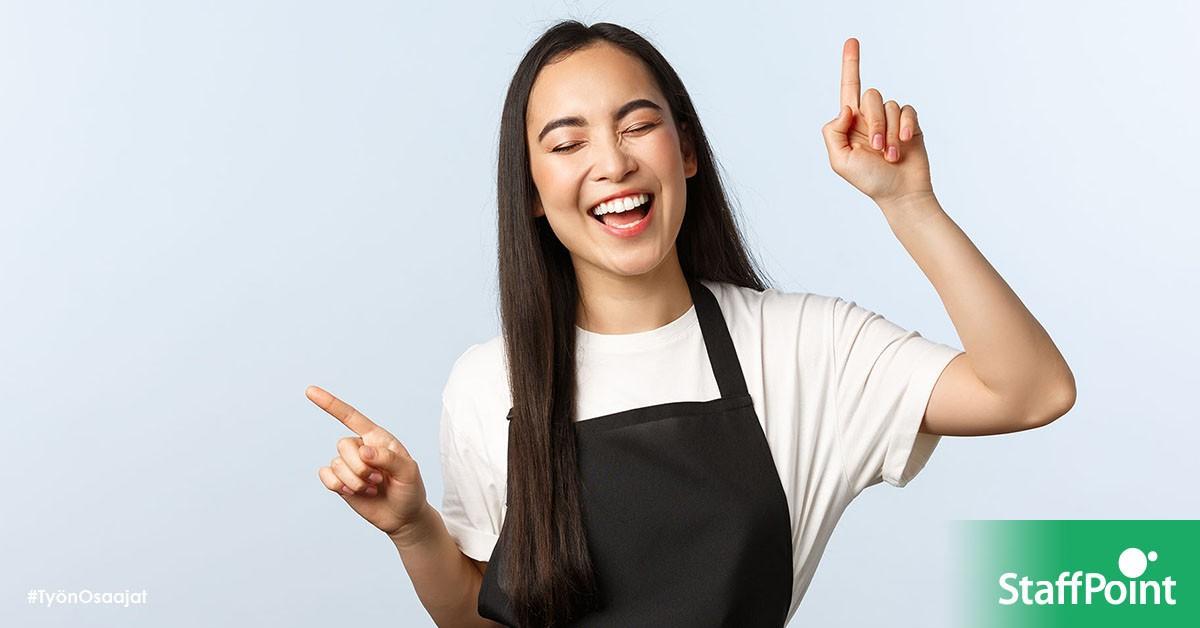 Linkki tapahtumaan Liverekry ti 19.10. klo 13 Oodissa: Kiinnostaako työ ravintola-alalla, mutta Sinulla ei ole vielä kokemusta tai koulutusta?