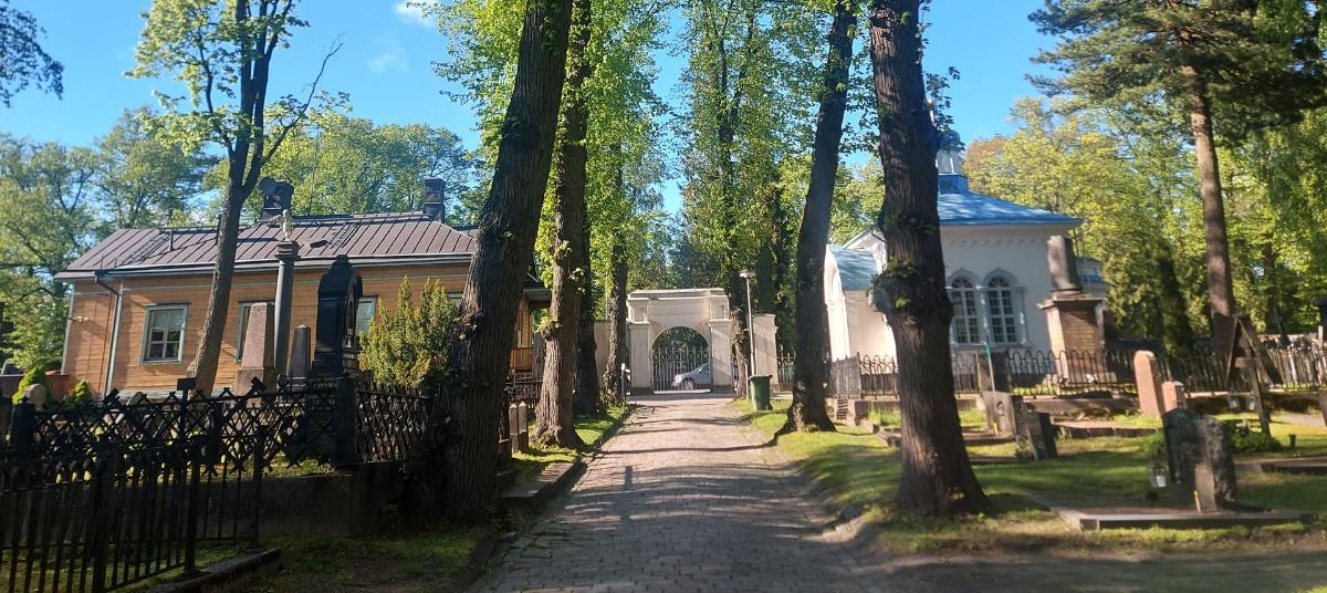 Linkki tapahtumaan Kävelykierros ortodoksisella hautausmaalla