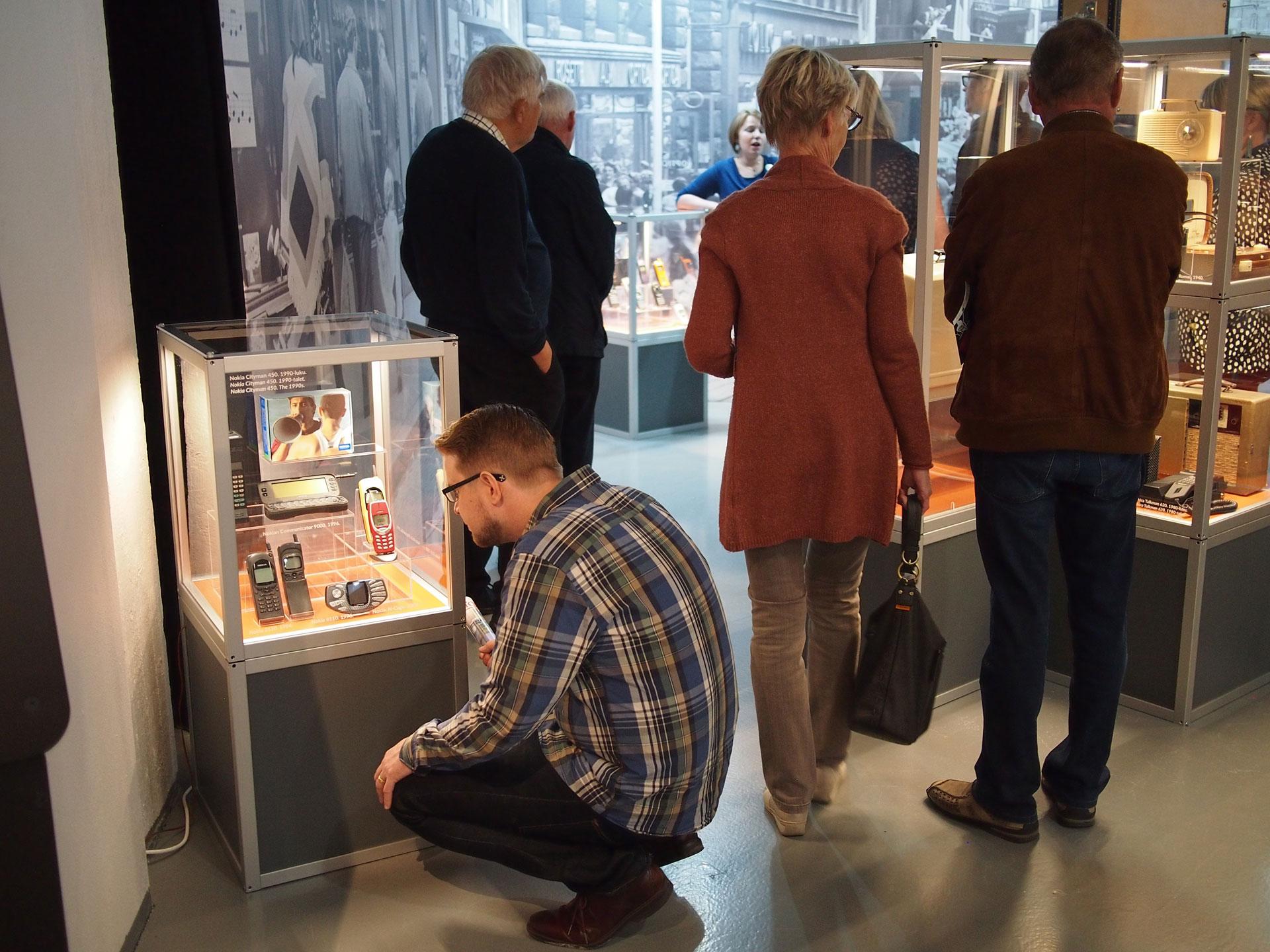 Linkki tapahtumaan Yleisöopastus Tekniikan museon näyttelyihin