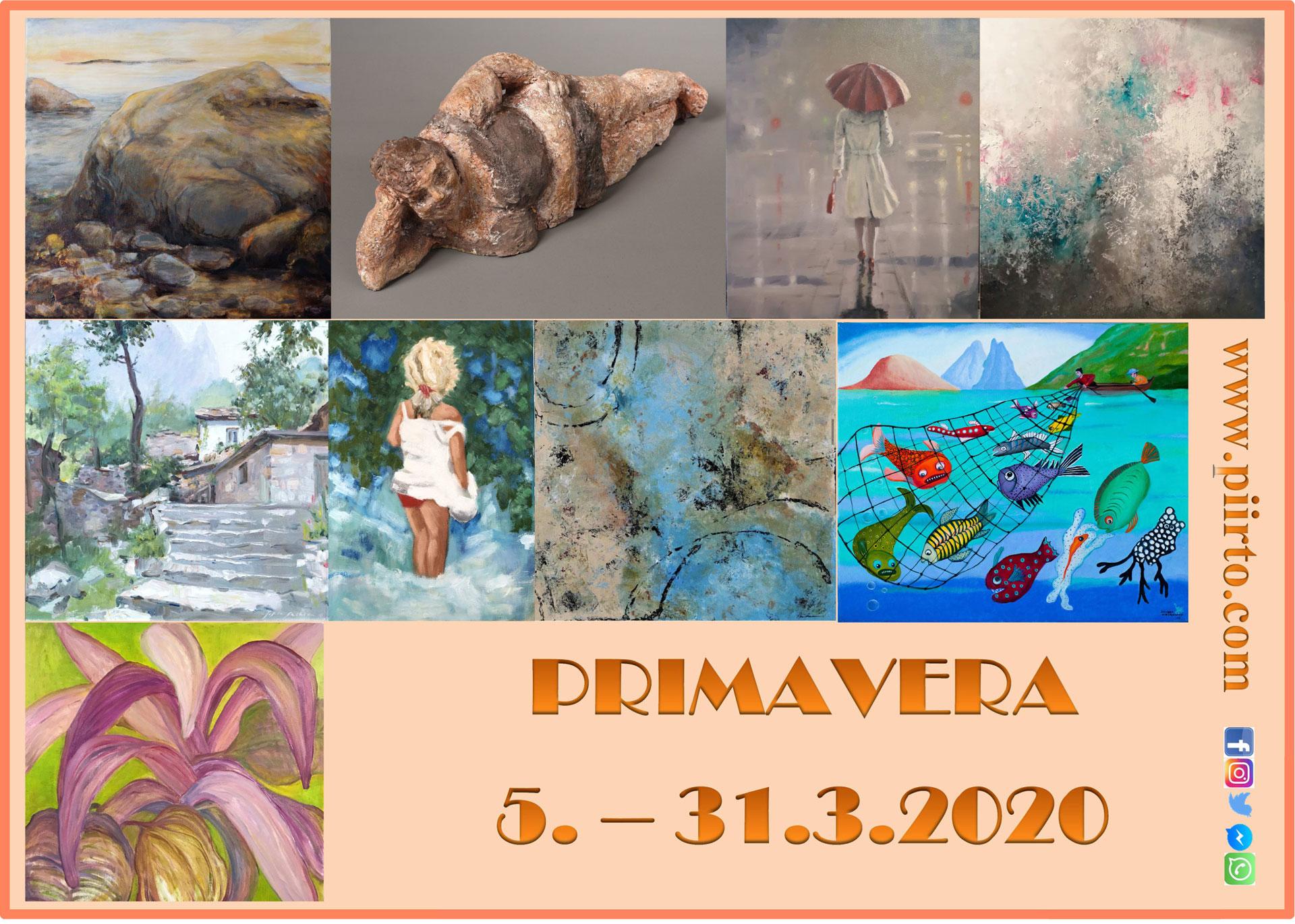 Linkki tapahtumaan Suljettu: Primavera - yhdeksän taiteilijan näyttely