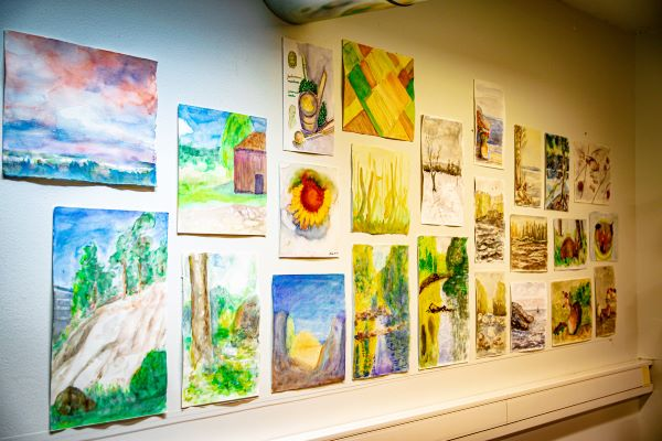 Linkki tapahtumaan Perjantaimaalareiden taidenäyttely