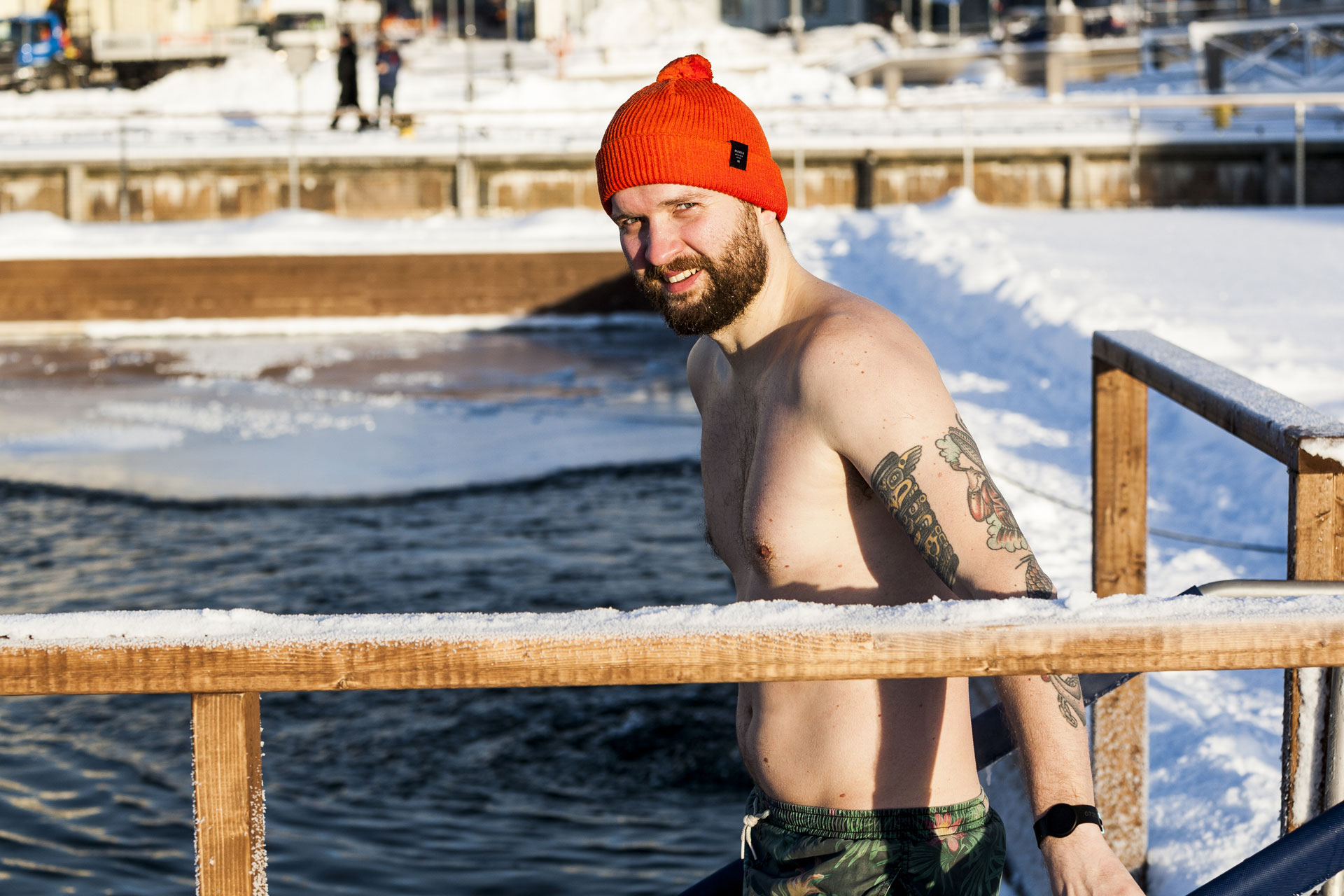 Link to event Winter Swims at Allas Sea Pool 2019-2020