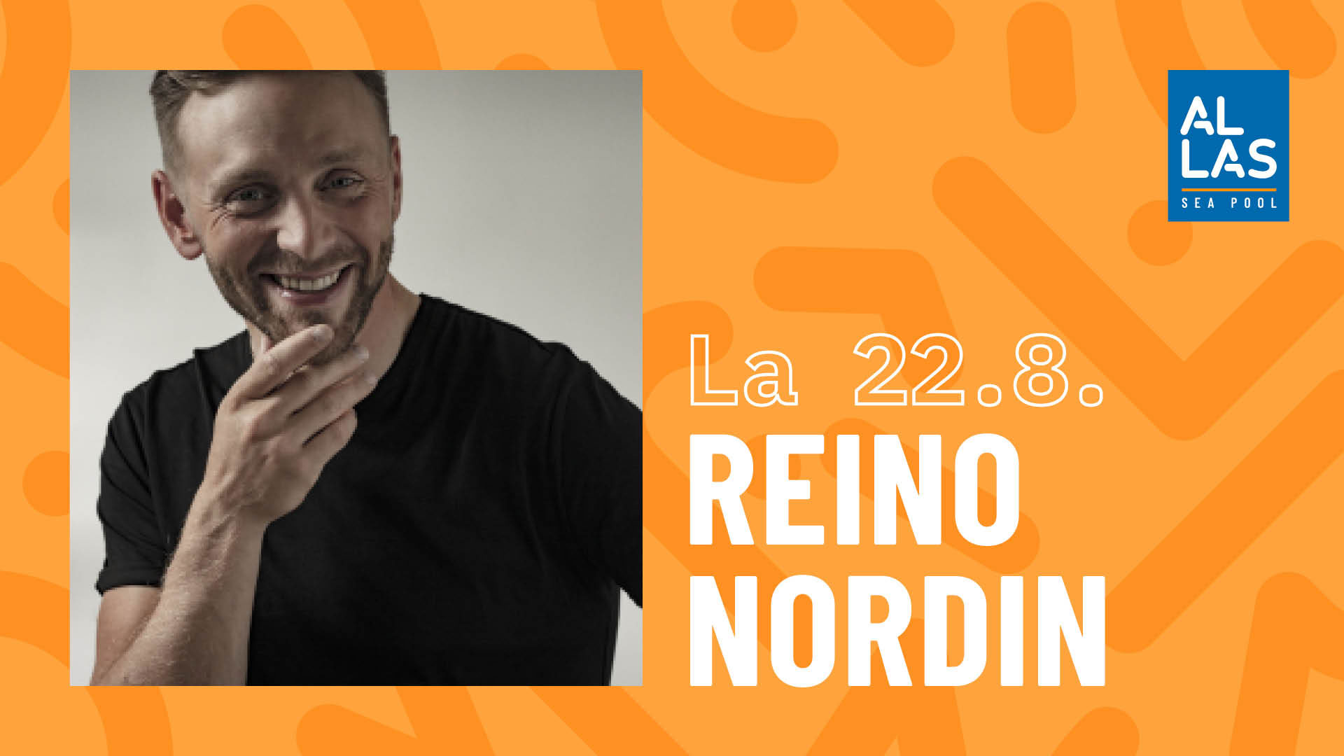 Link to event Allas Live: Reino Nordin
