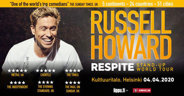 Link to event Russell Howard