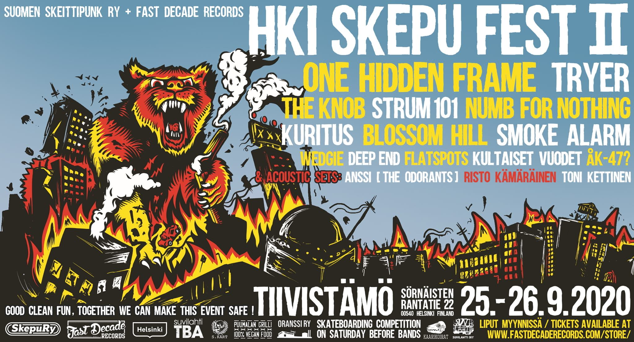 Linkki tapahtumaan HKI SKEPU FEST II