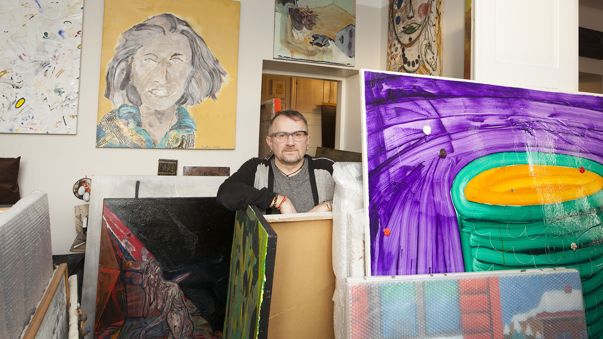 Linkki tapahtumaan Hullu rakkaus – Seppo Fräntin kokoelma Kiasmassa