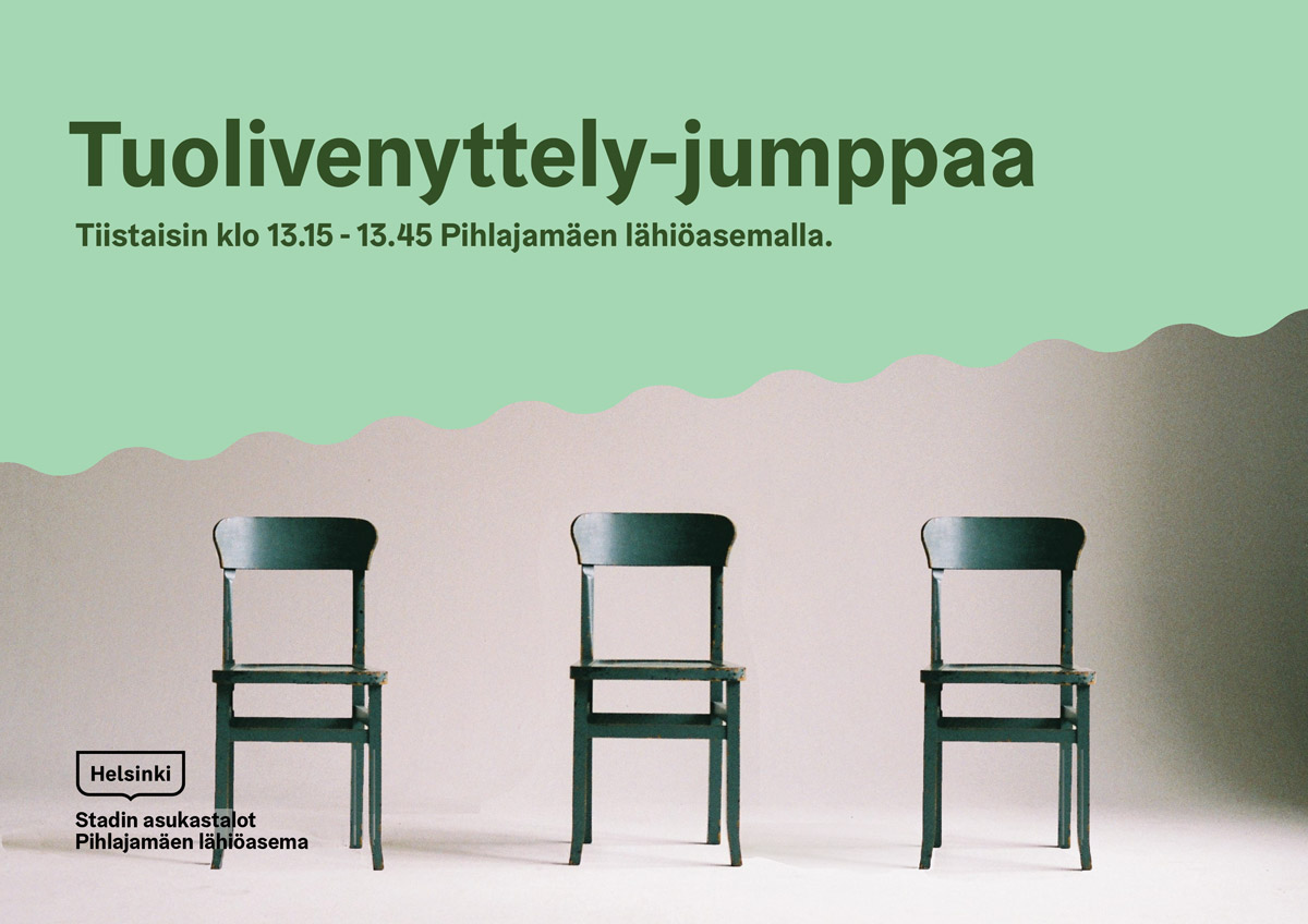 Link to event Tuolivenyttely-jumppa