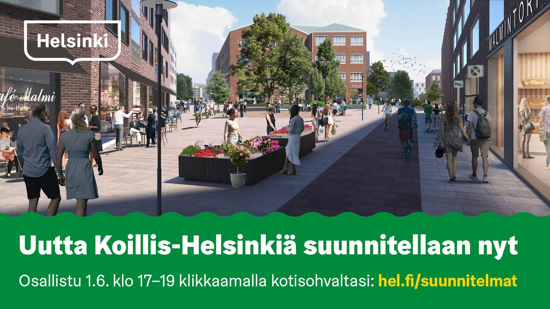 Linkki tapahtumaan Uutta Koillis-Helsinkiä verkkotilaisuus