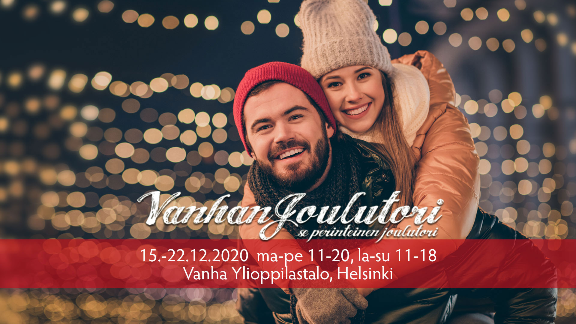 Link to event Cancelled: Vanhan Joulutori Christmas Market 2020