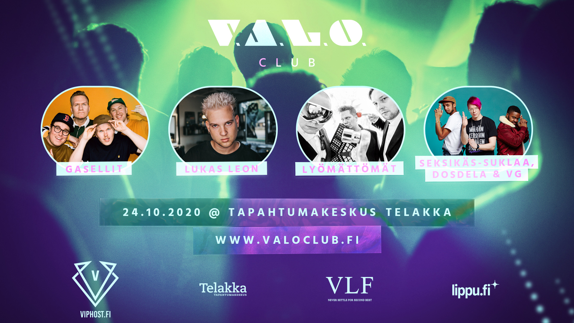 Link to event CANCELLED: V.A.L.O. Club