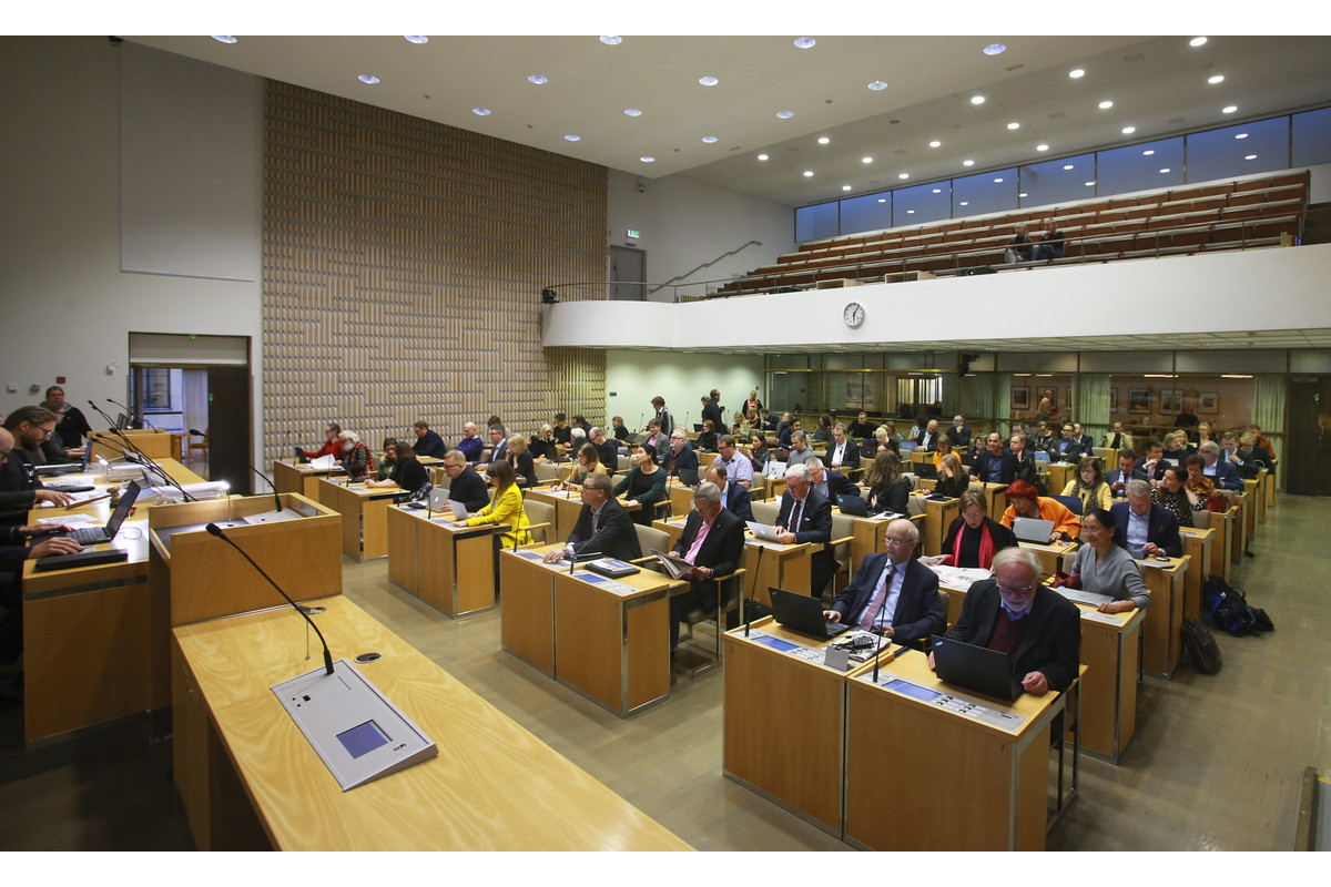 Link to event Helsinki City Council meeting