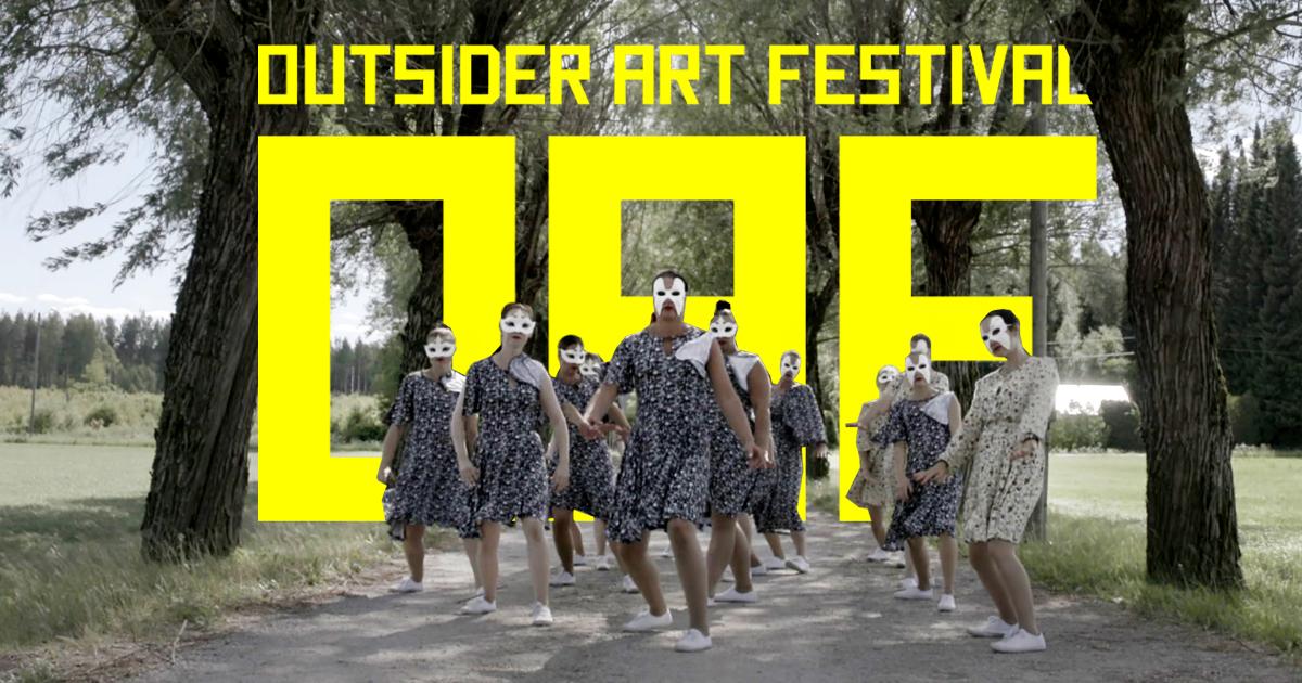 Linkki tapahtumaan Outsider Art Festival 2021