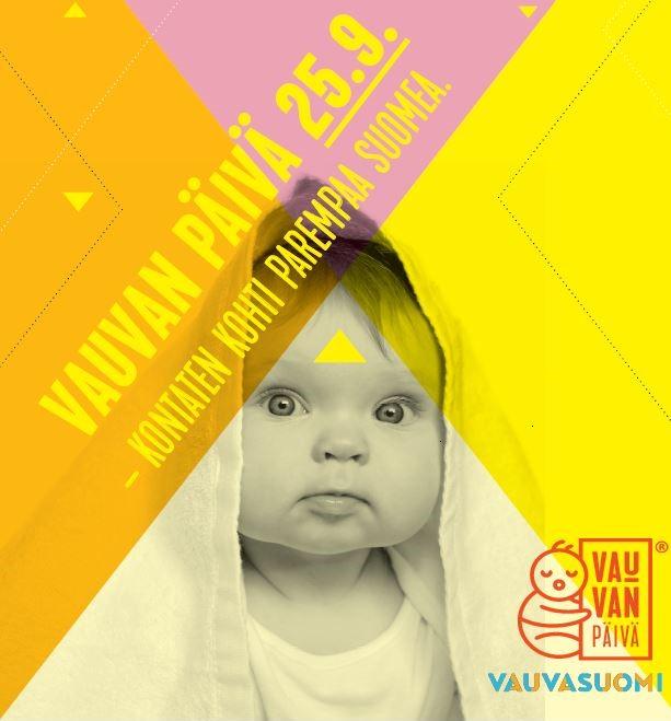 Linkki tapahtumaan Vauvan päivä 25.9. klo: 9.30 - 11.30