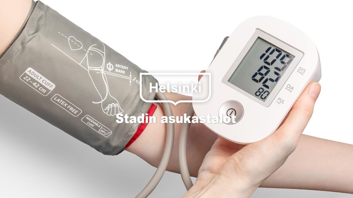 Linkki tapahtumaan Verenpainemittari käytettävissä