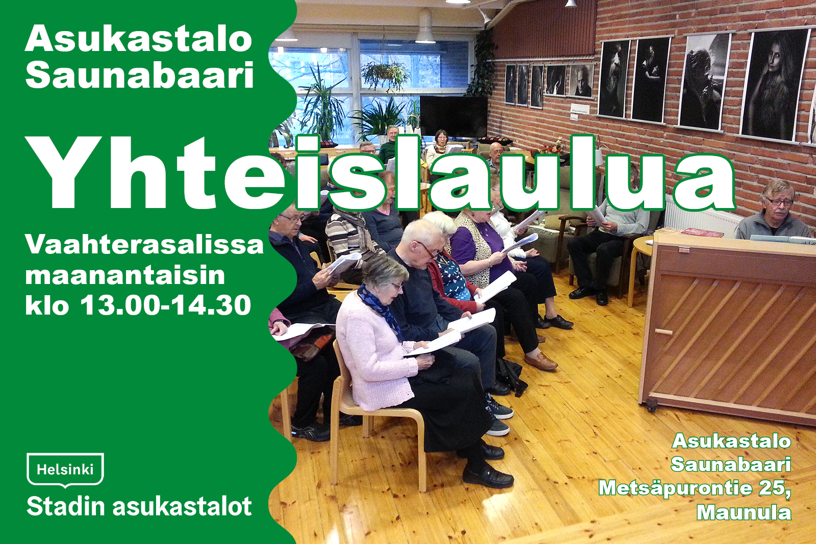 Link to event Yhteislaulua