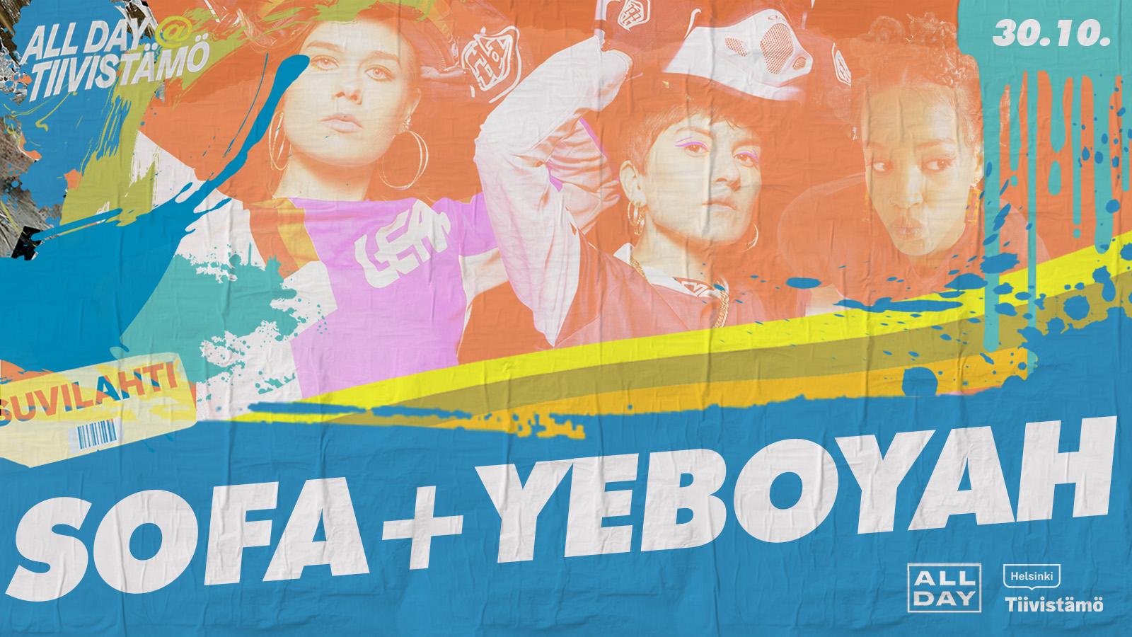 Linkki tapahtumaan Sofa + Yeboyah