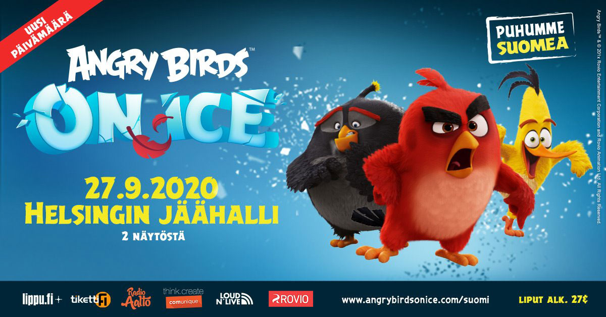 Link to event Angry Birds on Ice