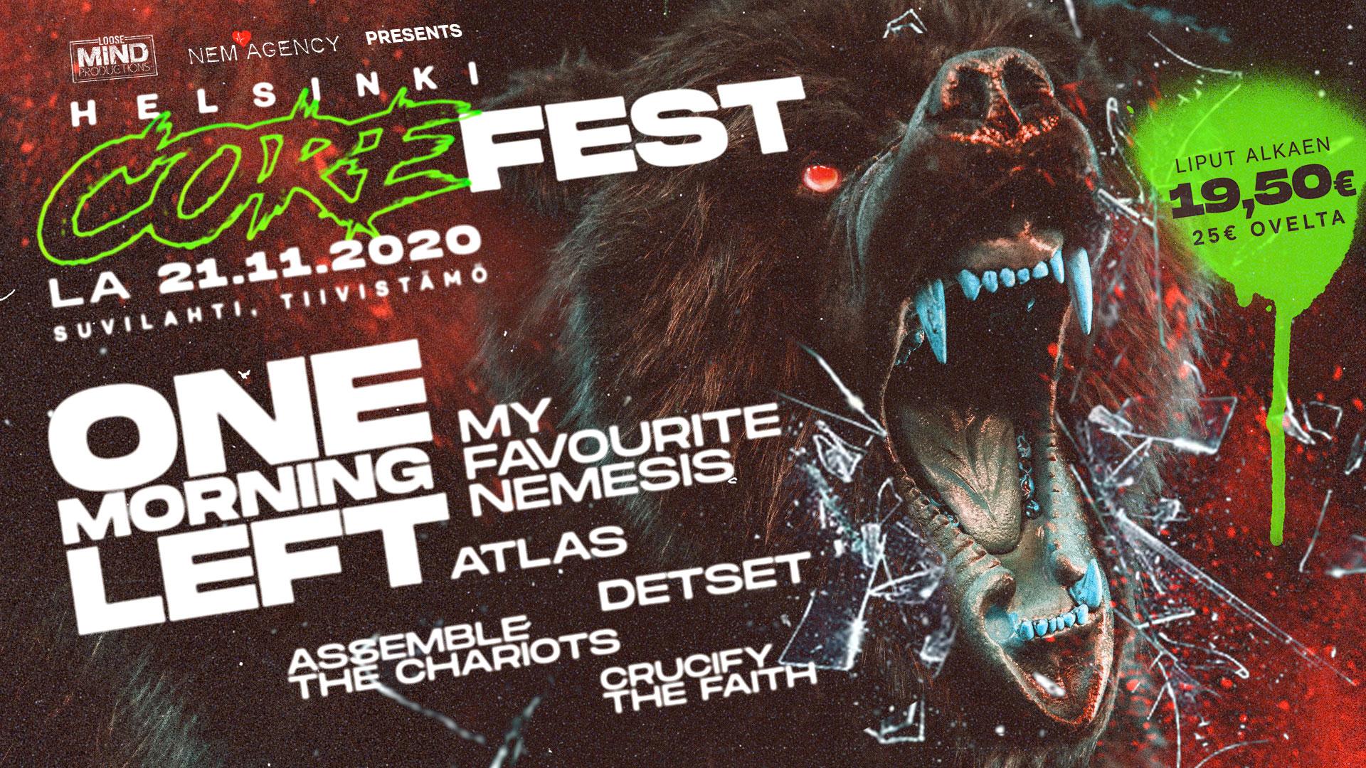 Linkki tapahtumaan Helsinki CoreFest