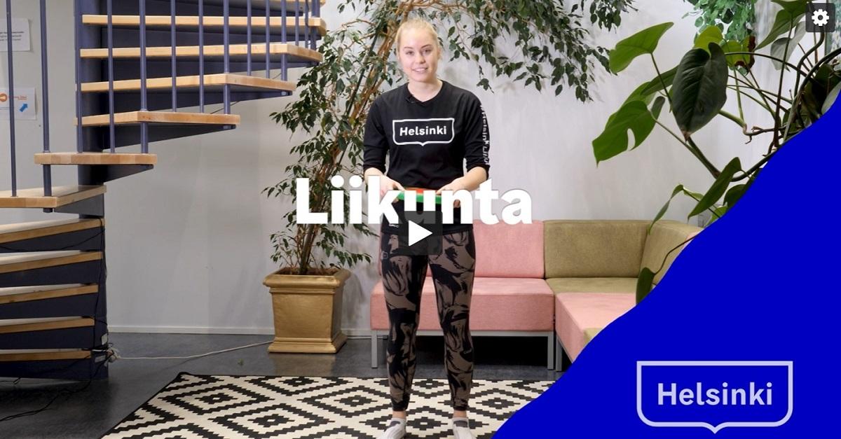 Linkki tapahtumaan Talviloma: Tutustu EasySport toimintaan Easysti kotona -videoiden parissa