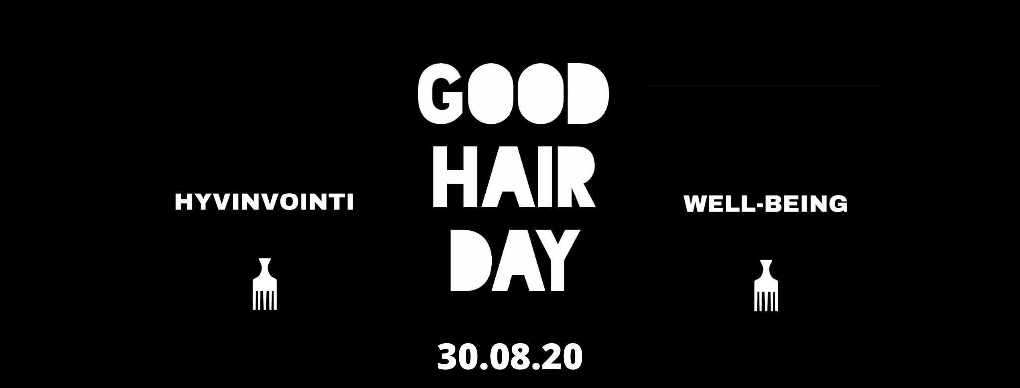 Linkki tapahtumaan GOOD HAIR DAY 2020
