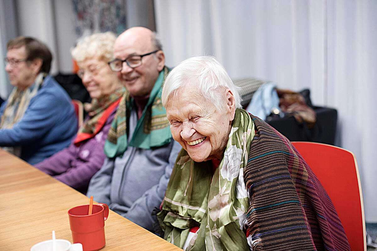 Linkki tapahtumaan Iloa ja oivalluksia iäkkään ihmisen arkeen