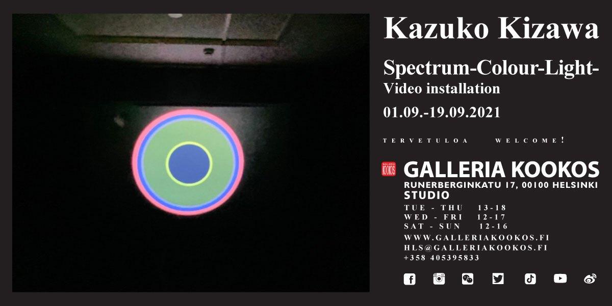 Linkki tapahtumaan Kazuko Kizawa: Spectrum-Colour-Light