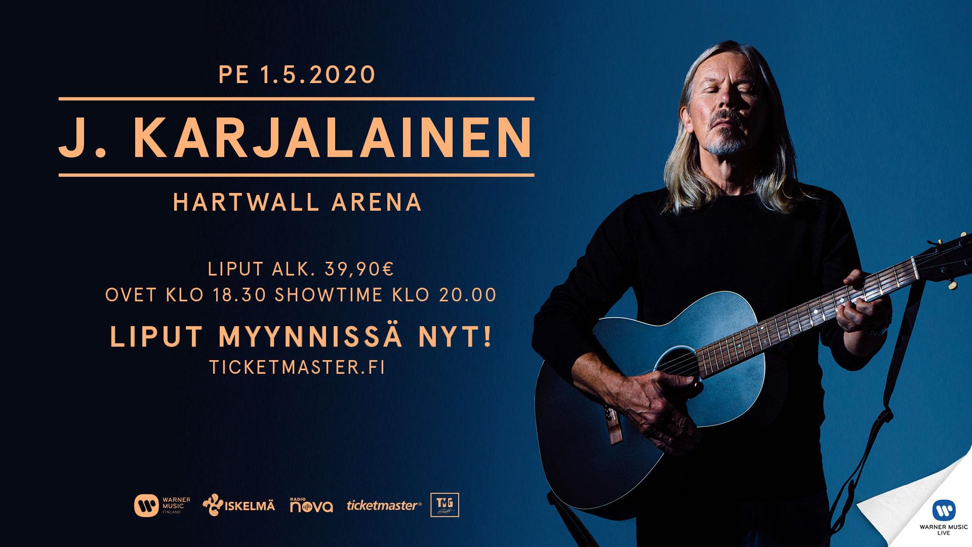 Linkki tapahtumaan J. Karjalainen