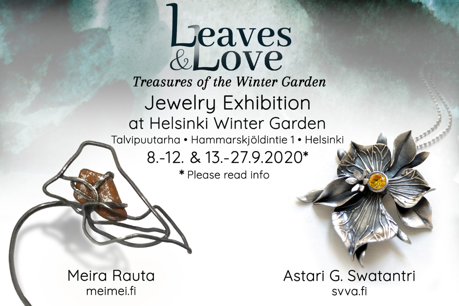 Link to event Leaves and Love Jewelry Exhibition