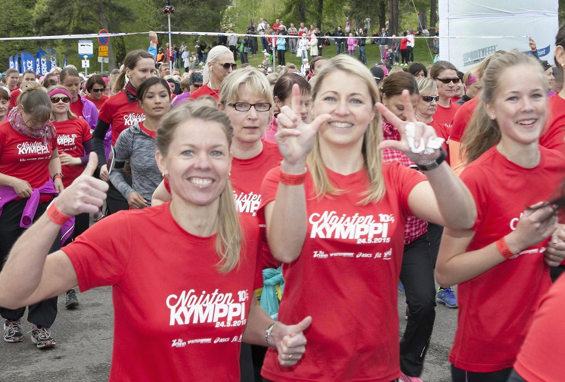 Link to event Naisten Kymppi - Women's Fun Run 2020