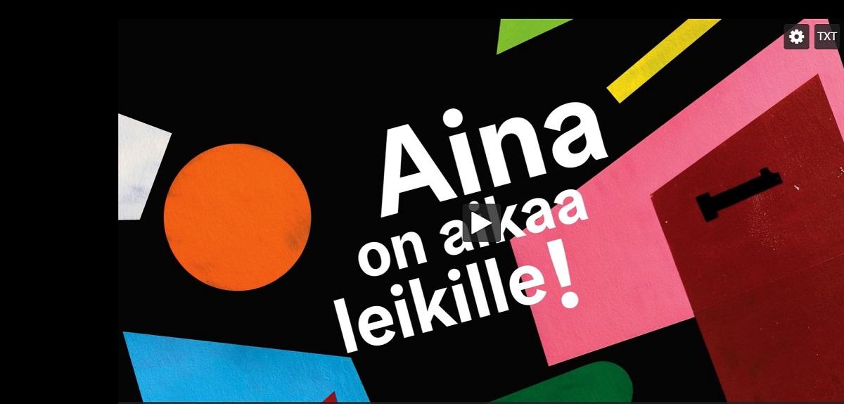 Linkki tapahtumaan Talviloma: Tänään leikitään tallenteilla mm. jumpataan, lauletaan ja nähdään esityksiä