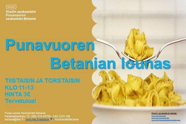 Link to event Tavataan lounaalla!